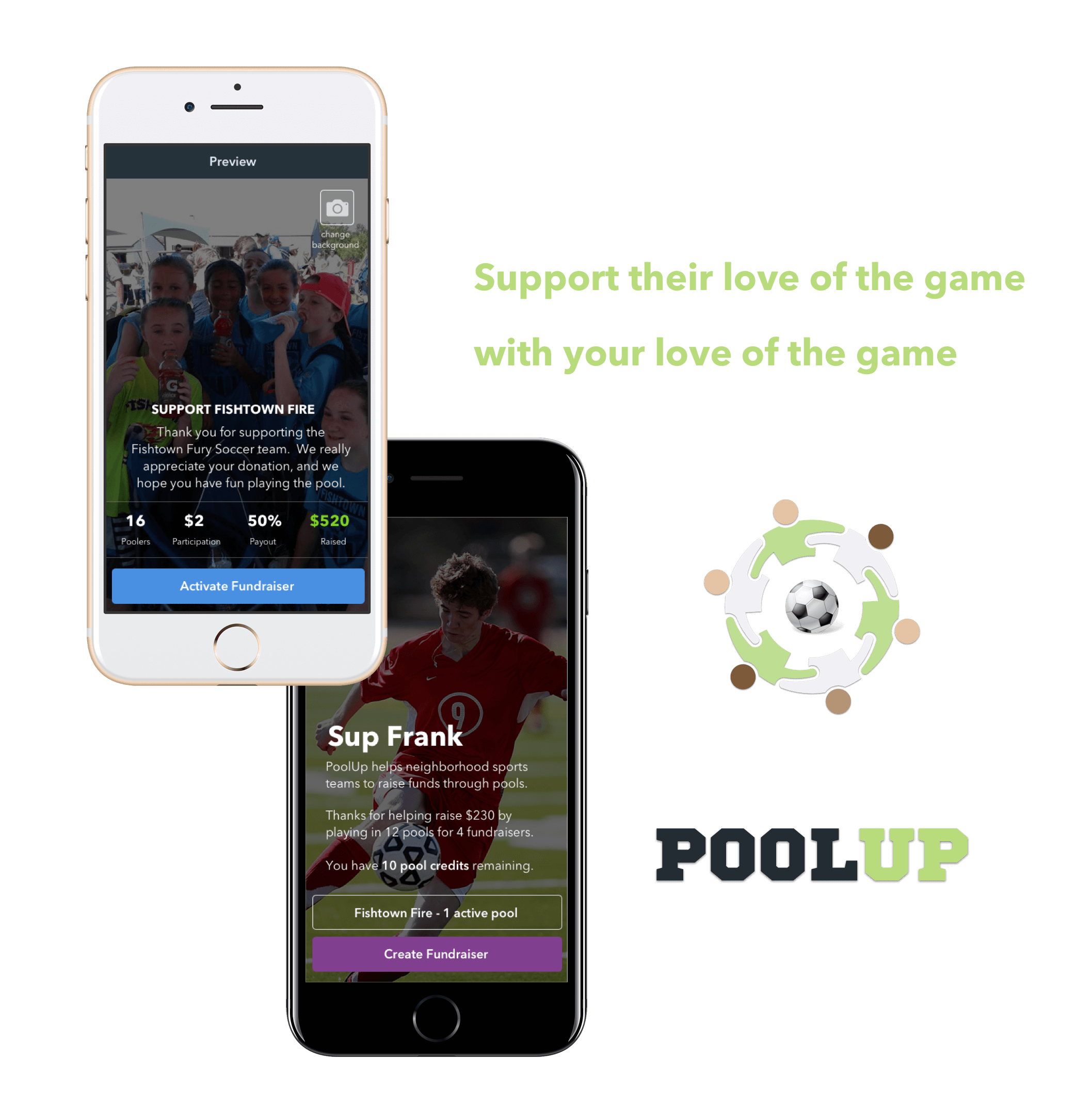 poolup support love game (1)